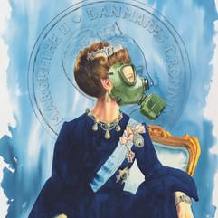 H.M Queen Margrethe II of Denmark '24k' (Gasmask)