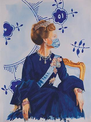 H.M Queen Margrethe II of Denmark (Mega Mussel COVID 19)