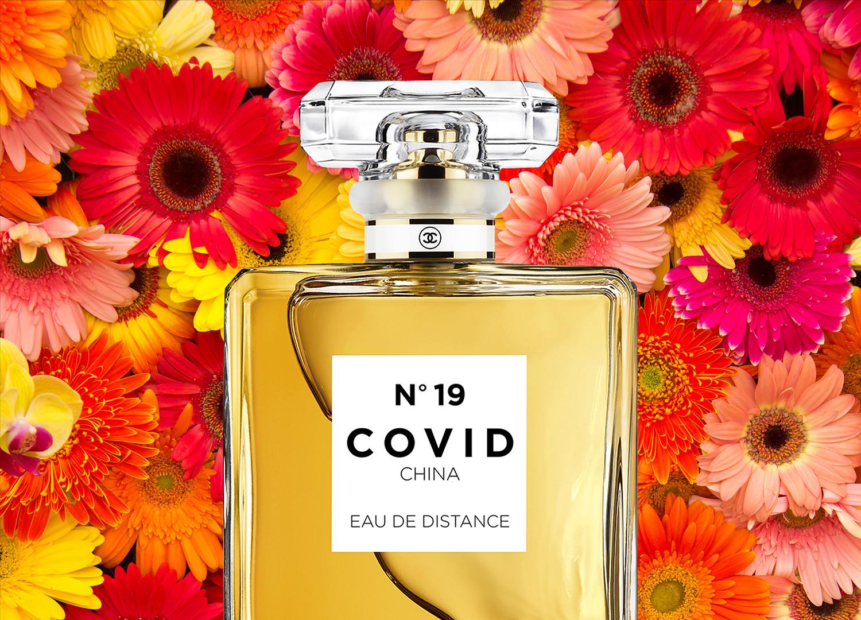 COVID No.19 EAU DE DISTANCE (Pink Daisy)