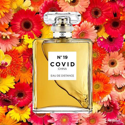 COVID No. 19 EAU DE DISTANCE (Pink Daisy)