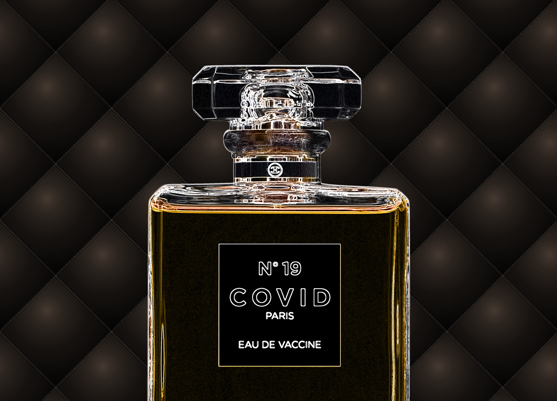 COVID No.19 EAU DE VACCINE (Neon Gold)