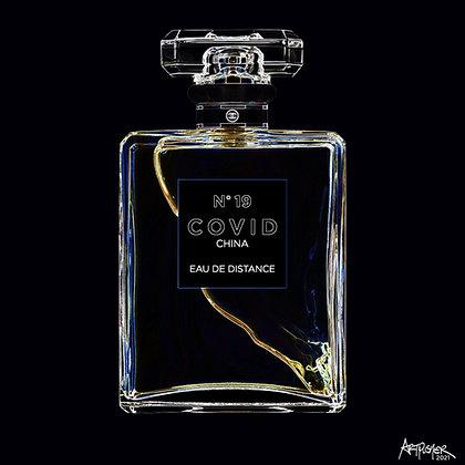 COVID No. 19 EAU DE DISTANCE (Neon)