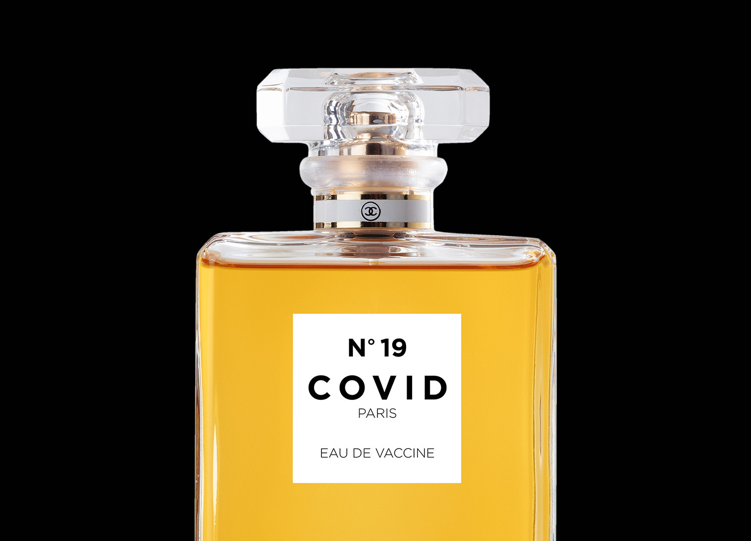 COVID No.19 EAU DE VACCINE (Black)