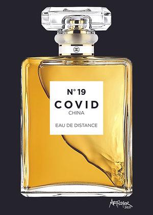 COVID No. 19 - EAU DE DISTANCE - BLACK
