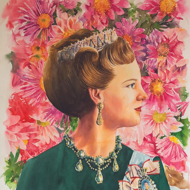 H.M Queen Margrethe II of Denmark (RD/BT)