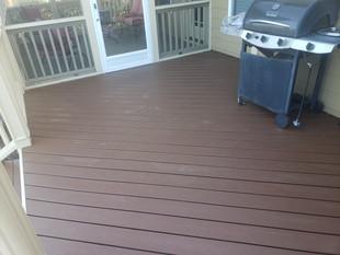 Composite deck remodel