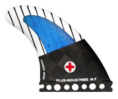 M7 future  carbon textreme  - blue  3 fins
