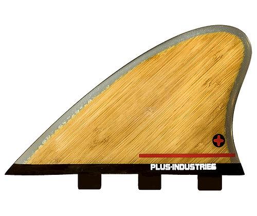 Twin keel TK-2  3 tab bamboo core honeycomb 2 fins