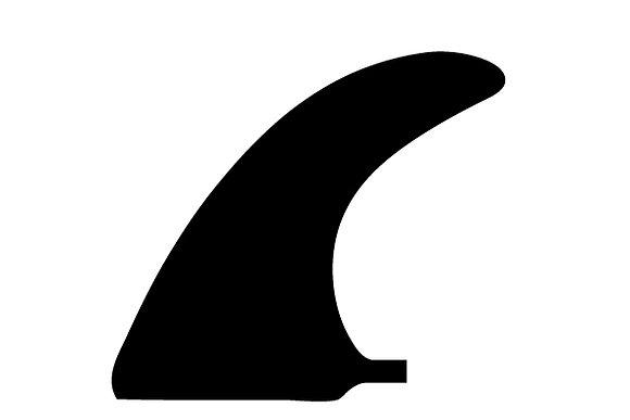 Fins longboard natural