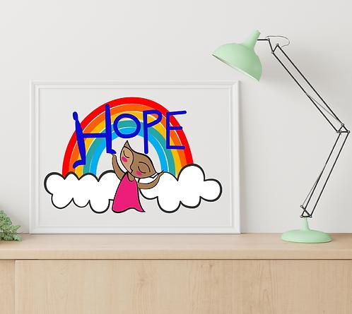 Hope/framed