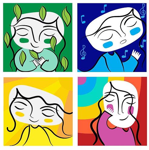Iconos de Emociones
