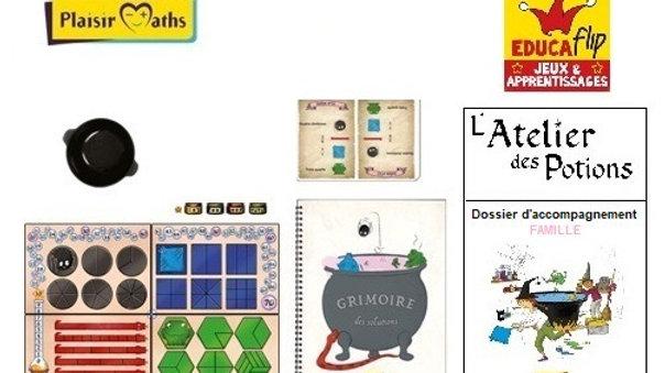 Atelier des Potions - Édition familiale(1-2 joueurs)/Séances de travail incluses