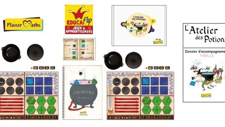 Atelier des Potions - Édition familiale(2-4 joueurs)/Séances de travail incluses