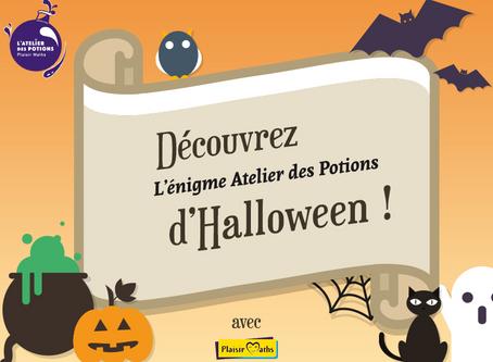 L'énigme Halloween Atelier des Potions