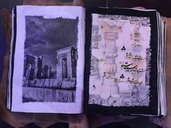 carnet de voyage chayan khoi iran persep