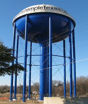 Water Tower - Temple, TX