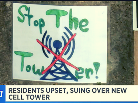 Pittsfield, MA Residents Furious, Sue Over New Cell Tower