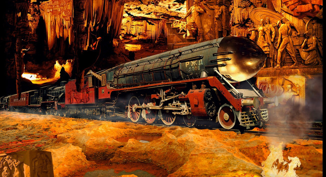 Chayan Khoi photographe train russe