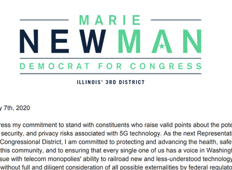 Nominee for Congress Issues Formal Statement on 5G Risks