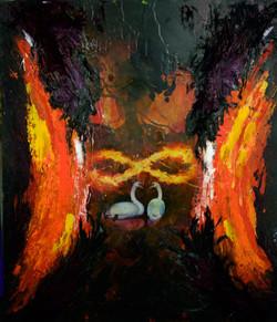 Peinture Chayan khoi 2018  123x145