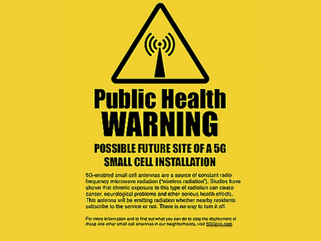 NOW AVAILABLE: Free, Downloadable 5G Warning Signs