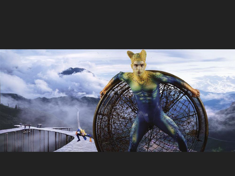 Chayan Khoi livre Ka cirque du soleil  (
