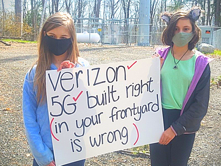 Amelia's Story: A 13-Year Old's Battle Against a Verizon Cell Tower