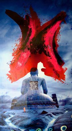 Peinture Chayan khoi 2018 vertical 120x2