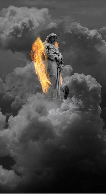 Chayan Khoi photographe Ange singe nuage