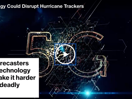 5G Could Disrupt Weather Satellite Systems
