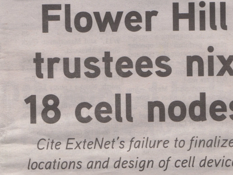 Flower Hill, NY Denies Small Cell Applications