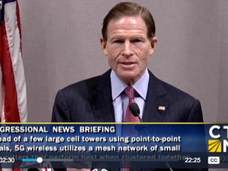 U.S. Senator Richard Blumenthal (D, CT) Wants the FCC to Prove that 5G is Safe