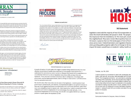 Congressional & State Electoral Candidates Commit to Protecting Voters From 5G in Illinois