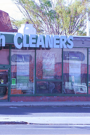 Dry Cleaner store front