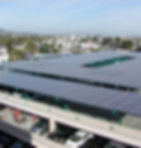 Solar Panel on Parking structure - Redwood City, CA