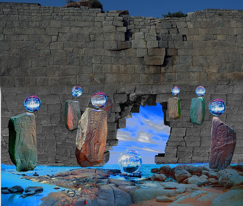 Chayan Khoi photographe MUR pierre boulle