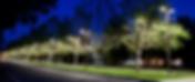 Street lighting at UC Davis