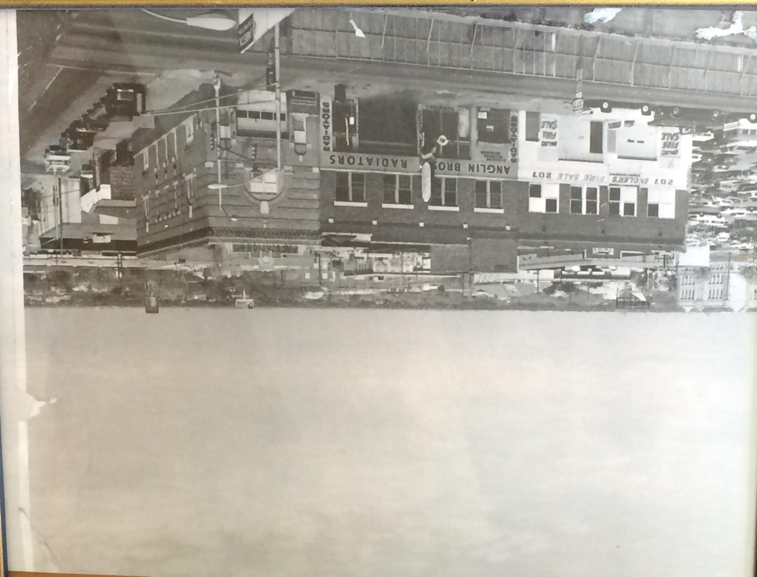 Original Anglin Bros. Radiator