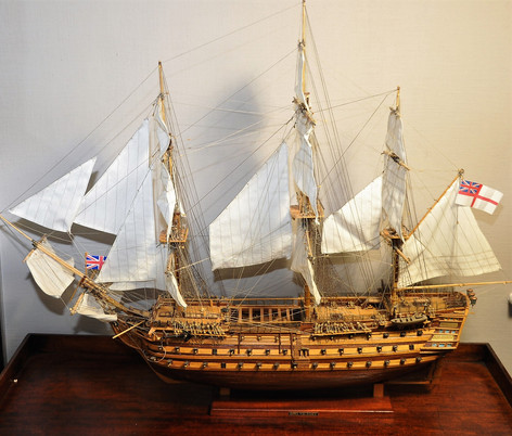 Scale model of the HMS Victory