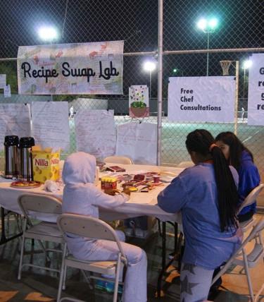 Recipe Swap Lab, 2015