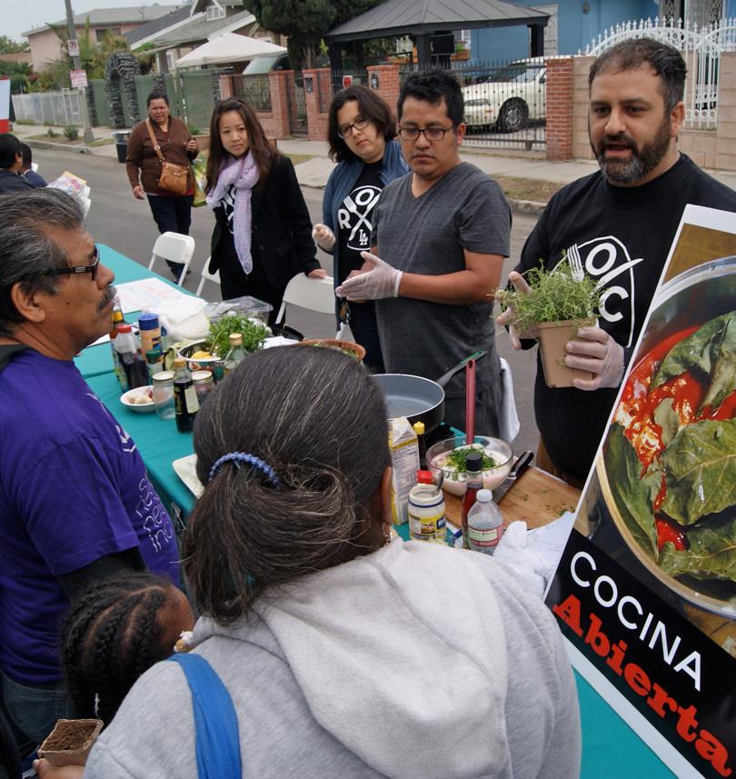 Cooking Demonstration+Recipe Exchange, 2014