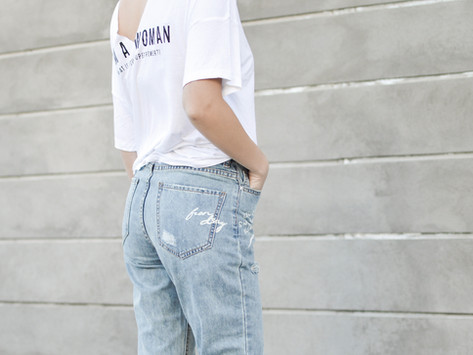 Ooh la La! French Girl Looks That Are Just a Boring T-Shirt and Jeans
