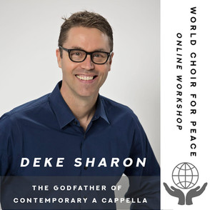DEKE SHARON - The Godfather of Contemporary A Cappella
