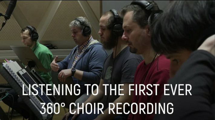 First 360 degree choir recording