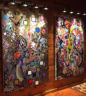 Title:  We Are Puzzles 3 (Left) We Are Puzzles 4 (Right)