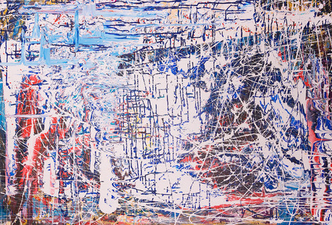 Title:  Winter Solstice By: Justin Hammer & Danny Fryer Dimensions: 40 x 60 inches  Please inquire for pricing.