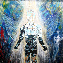 Title: Rising II By: Justin Hammer Dimensions: 60 x 40 Year: 2017  Sold
