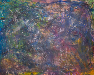 Title: Good Times Never Fade Away By: Justin Hammer Dimensions: 48 x 60 inches Year: 2017  Please inquire for pricing.