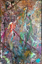 Title: Kombucha By: Justin Hammer & Paul Morse  Dimensions: 40 x 60 inches Year: 2018  Please inquire for pricing.