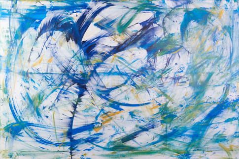 Title:  Turbulence By: Justin Hammer Dimensions: 40 x 60 inches  Please inquire for pricing.